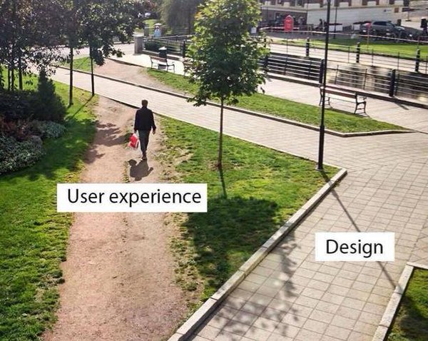 user experience versus user design